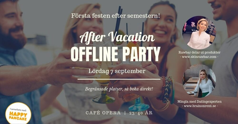 After Vacation Offline Party