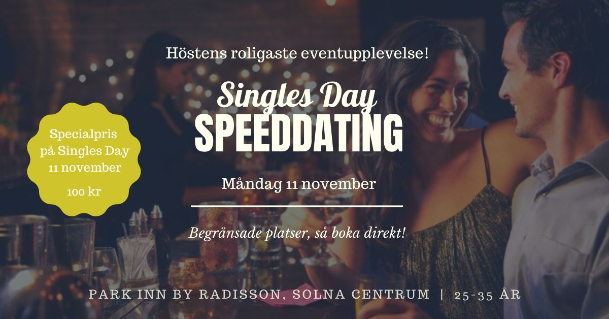 Singles Day Speeddating