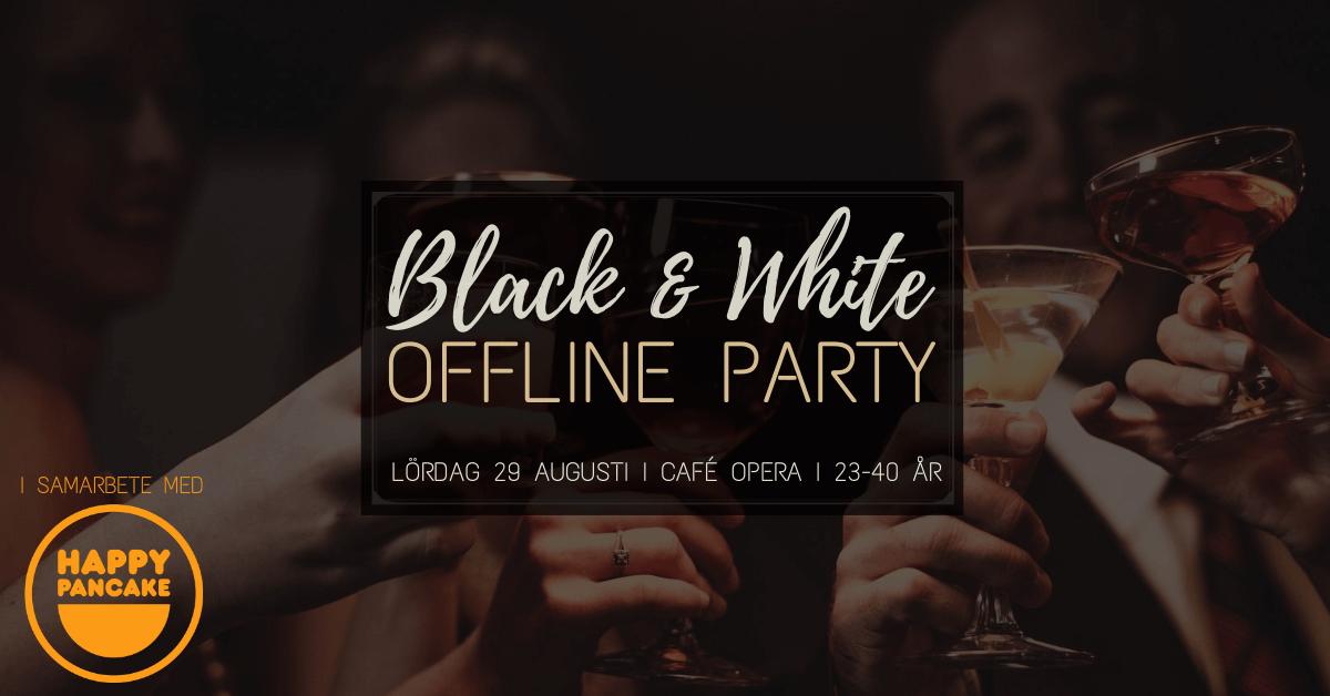 Black & White Offline Partyt